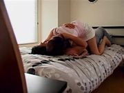Amateur Japanese Couple Homemade Bed Sex